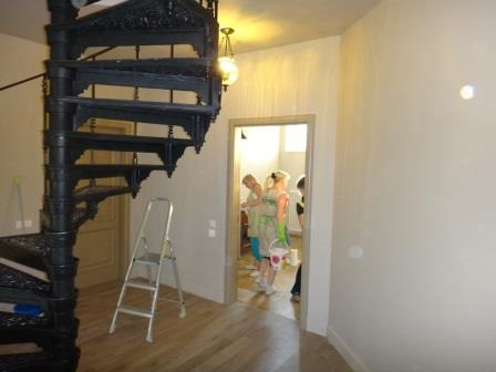 уборка 2го этажа