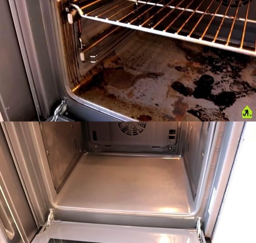 мытьё духовки