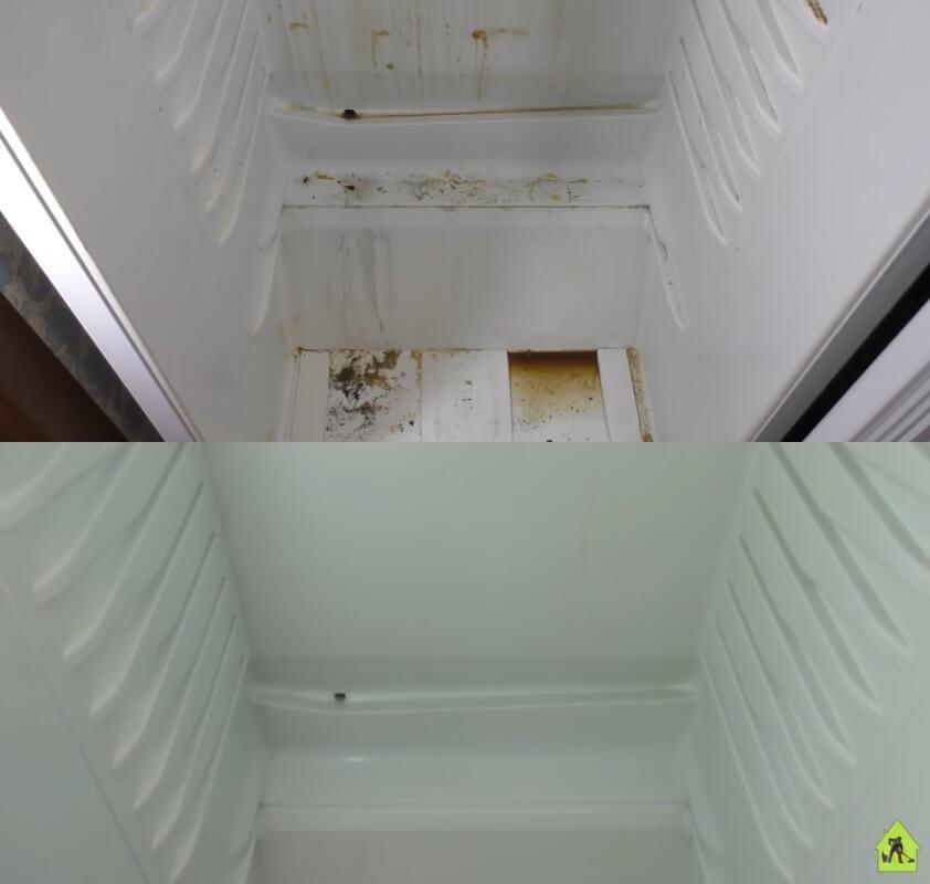 чистим холодильник внутри
