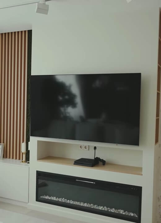 полировка телевизора